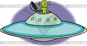UFO - Vektorgrafik