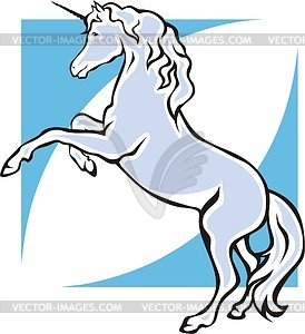 Einhorn - Royalty-Free Clipart