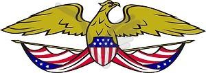 Amerikanisches Adler - Vector-Abbildung