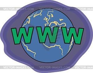 Internet - Clipart-Bild