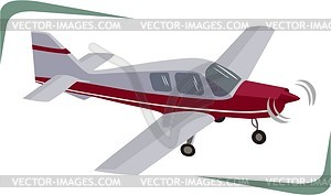 Airplane - vector image
