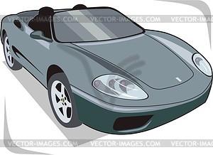 Auto - Vector-Abbildung