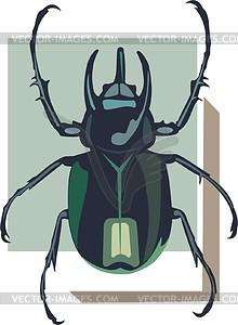 Käfer - vektorisiertes Bild