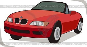 BMW - Stock Vektor-Clipart