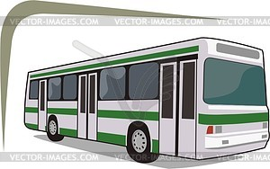 Bus - Vektor-Abbildung