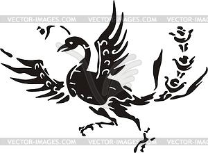 Chinesischer südliche mythische Vogel - Vektorgrafik