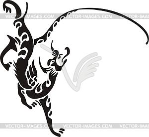 Chinesische mythische Kreatur - Vector-Clipart / Vektorgrafik