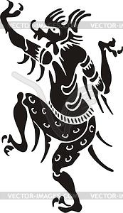 Chinesische mythische Kreatur - Vektor-Clipart EPS