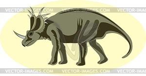 Dinosaurier - Vector-Abbildung
