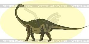 Dinosaurier - vektorisierte Abbildung