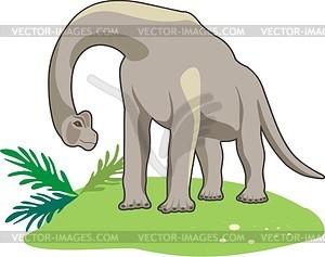 Dinosaurier - vektorisierte Grafik