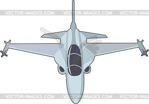 Kampfflugzeuge - Vektor-Design