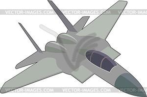 Kampfflugzeuge - Vektor-Clipart / Vektor-Bild