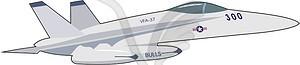 Kampfflugzeuge - Clipart-Design