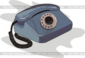 Telephone - vector clip art