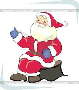Weihnachtsmann - Clipart-Bild