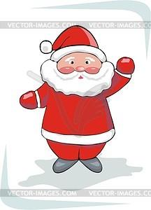 Weihnachtsmann - vektorisierte Abbildung