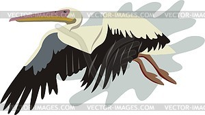 Storch - Vector-Clipart / Vektor-Bild
