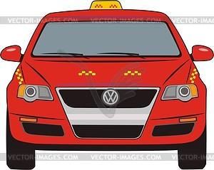 Такси - изображение в формате EPS