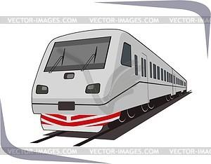Zug - Vektor-Clipart