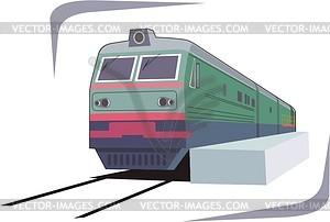 Zug - Vektor-Bild