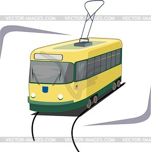 Straßenbahn - Klipart