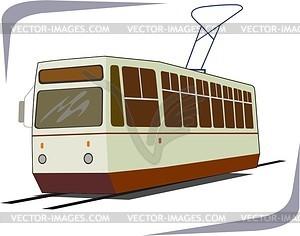 Straßenbahn - Royalty-Free Clipart