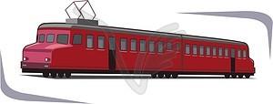 Straßenbahn - Royalty-Free Vektor-Clipart