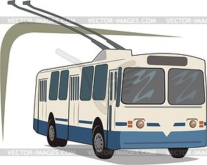 Trolleybus - Vector-Illustration