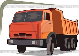 Truck - vector image