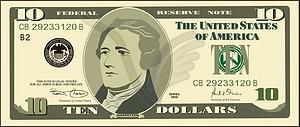 Dollar - Vector-Clipart / Vektor-Bild
