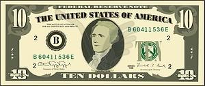 Dollar - Vector-Clipart / Vektorgrafik
