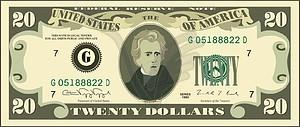 Dollar - Vektor-Klipart