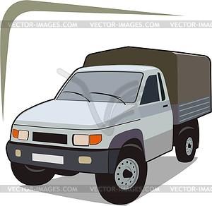Pickup - Vektorgrafik