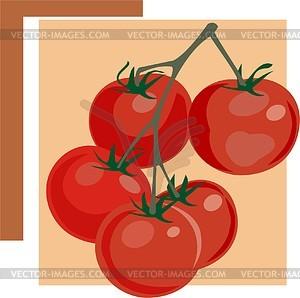 Tomate - Vektor-Clipart / Vektorgrafik