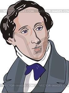 Hans-Christian Andersen - Vektorgrafik
