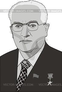 Juri Andropow - Vektorgrafik