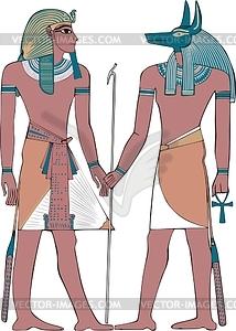 Anubis - Vector-Abbildung