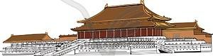 Beijing - Vektorgrafik