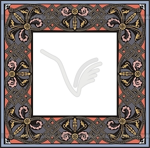 Medieval frame - royalty-free vector image