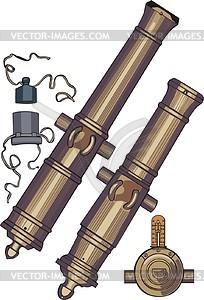 Kanonen - Vektorgrafik