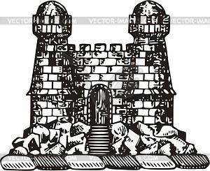 Burg - Vector-Clipart / Vektor-Bild