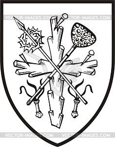 Wappen von Christus - Vektorgrafik