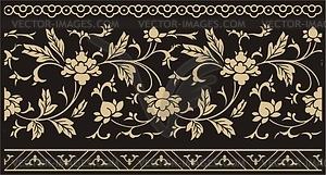 Chinesischs florale Design - Vektor-Clipart