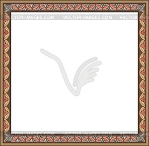 Border - vector image