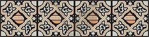 Arabisches ornamentale Design - Vektorgrafik