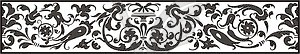 Ornamentales Design - Vektor-Clipart