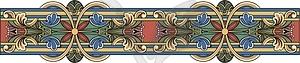 Mittelalterliche Dekoration - Vector-Clipart EPS