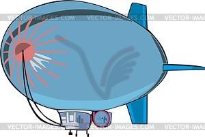 Luftschiff - Vector-Clipart