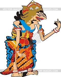 Durga - vector clipart